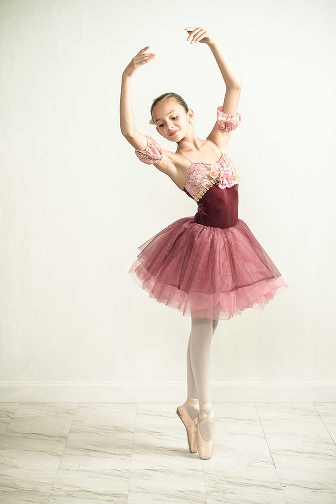 Dance Photographer creating beautiful Ballerina Photos