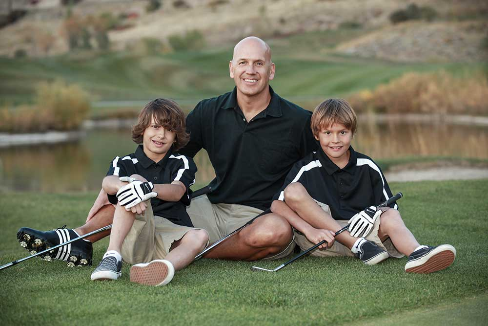 Golf Course Family Photographer