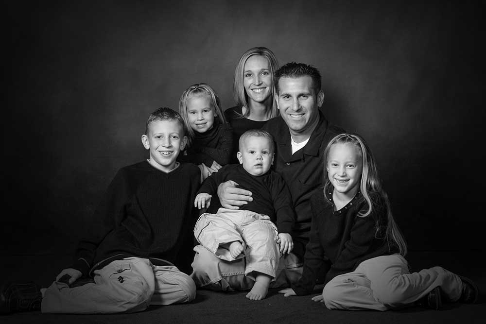 Studio Family Portrait Photographer