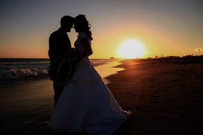 Sunset Beach Wedding Photography