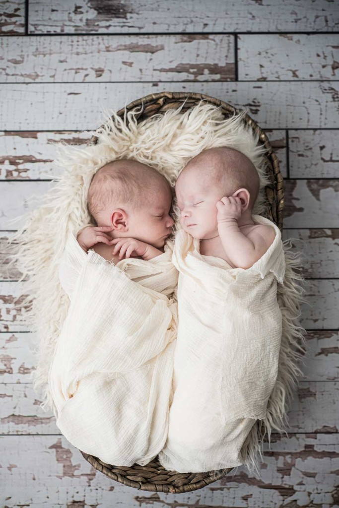Newborn Baby Twins Photography
