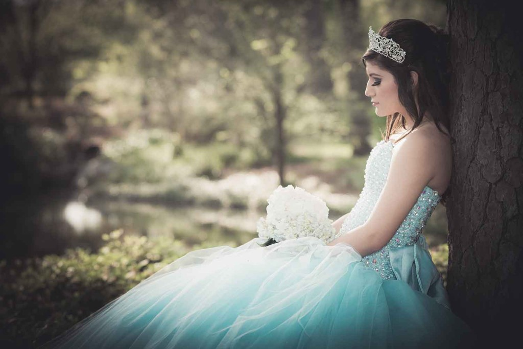 Quinceanera at Herman Park